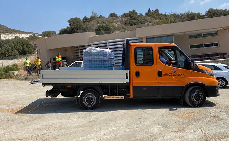 Ενέργειες Δήμου Λάρνακας για την πυρκαγιά
