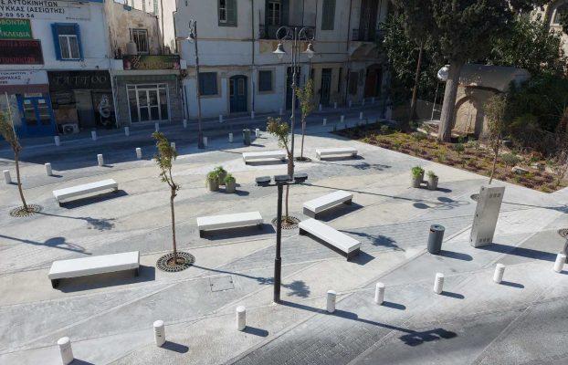 «Ανάπλαση οδών και διευκόλυνση ΑΜΕΑ στο Κέντρο της Λάρνακας»